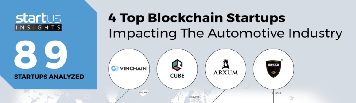 ARXUM is one of top 4 Blockchain Startups according to StartUs Insights