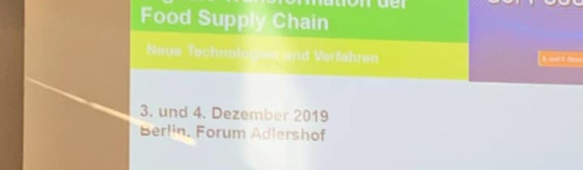 Digital Transformation in the Food Supply Chain
